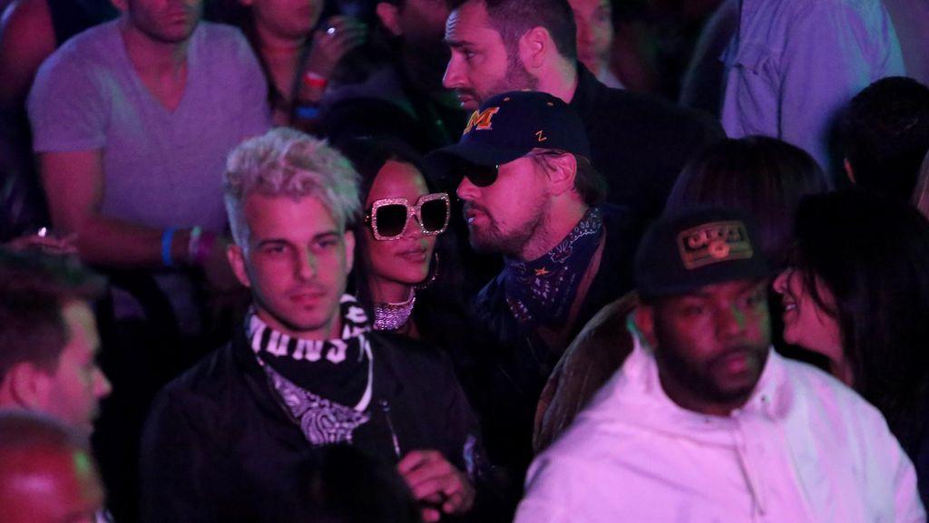 Rihanna dan Leonardo DiCaprio Kepergok Pesta Bareng di Coachella