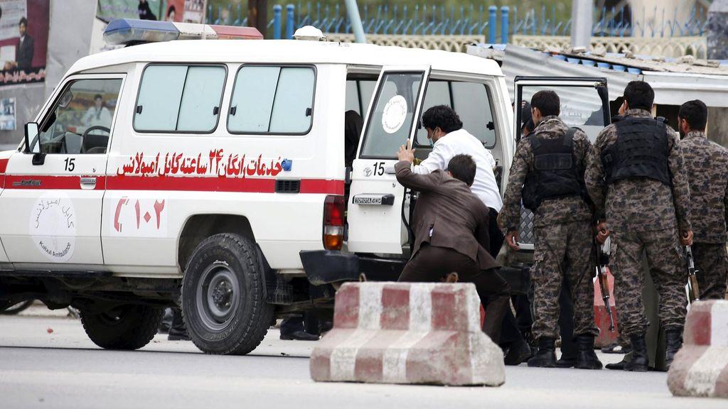 Korban Tewas Ledakan Bom Dekat Kedubes AS di Afghanistan Menjadi 28 Orang