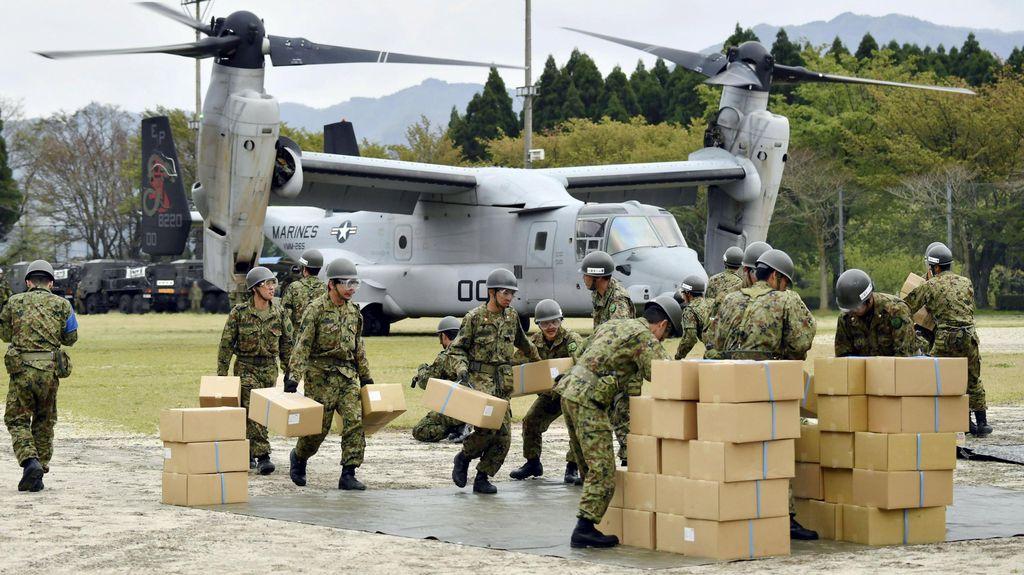 Jepang Berjuang Salurkan Bantuan untuk 100 Ribu Pengungsi Gempa
