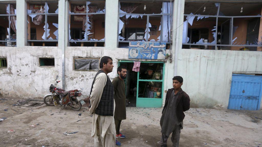 Taliban Mengklaim Ledakan di Dekat Kedubes AS di Afghanistan