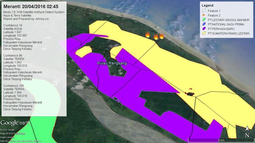 Kebakaran Lahan di Riau Terjadi Lagi, Kali ini 100-an Hektare di Meranti Membara