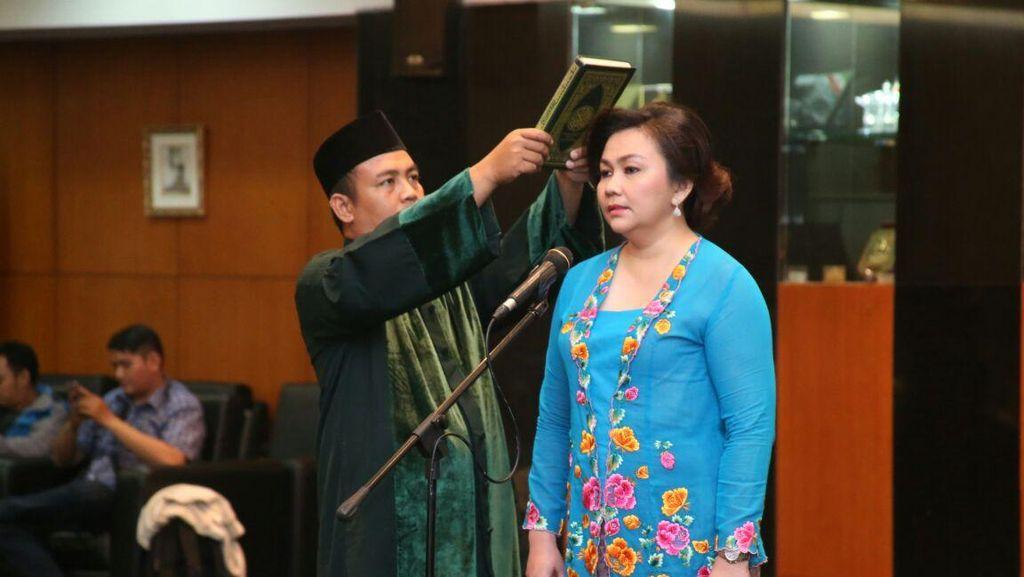 Ketua MPR Lantik Pengganti Puan Maharani