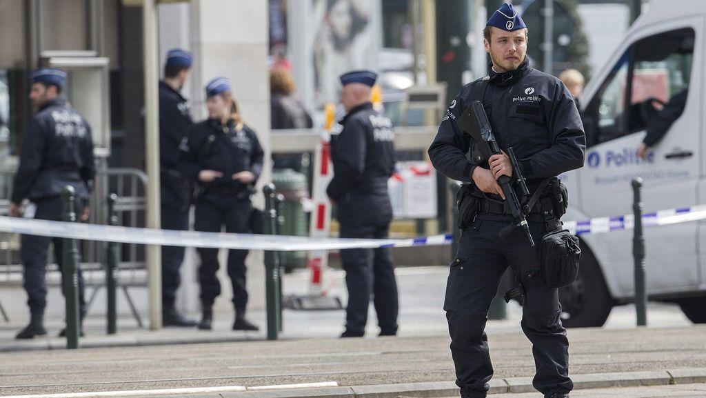 Polisi Belgia Tangkap 4 Orang Diduga Rencanakan Serangan Teror