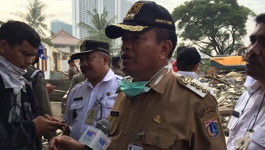 Penertiban di Pulomas Lancar, Wali Kota: Alhamdulillah Warga Rela Pindah