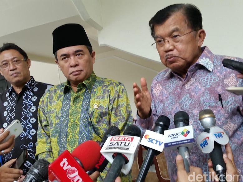 Soal Munaslub Golkar, JK Bantah Ada Pertarungan dengan Luhut