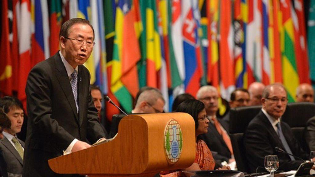 Sekjen PBB: Senjata Kimia Masih Jadi Ancaman