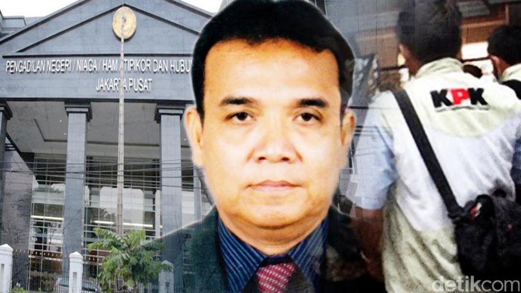 Pemeriksaan Perdana, KPK Tanyakan Peranan Edy Nasution di PN Jakarta Pusat