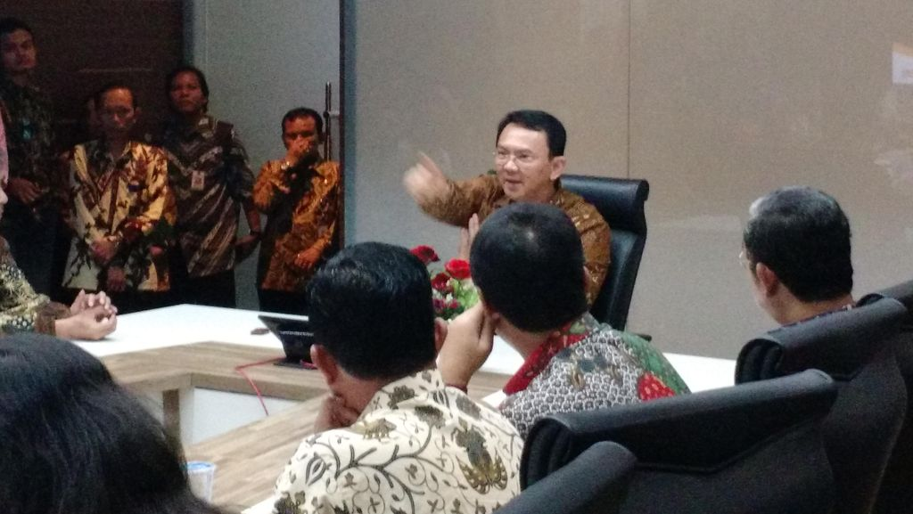Rapat Soal Banjir, Ahok: Wali Kota Rustam Effendi Jangan-jangan Sepihak dengan Yusril