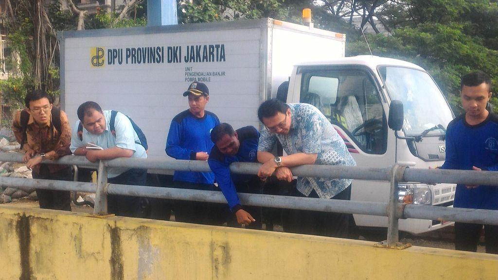 Ahok, Nasihat Jokowi Blusukan dan Pompa Air