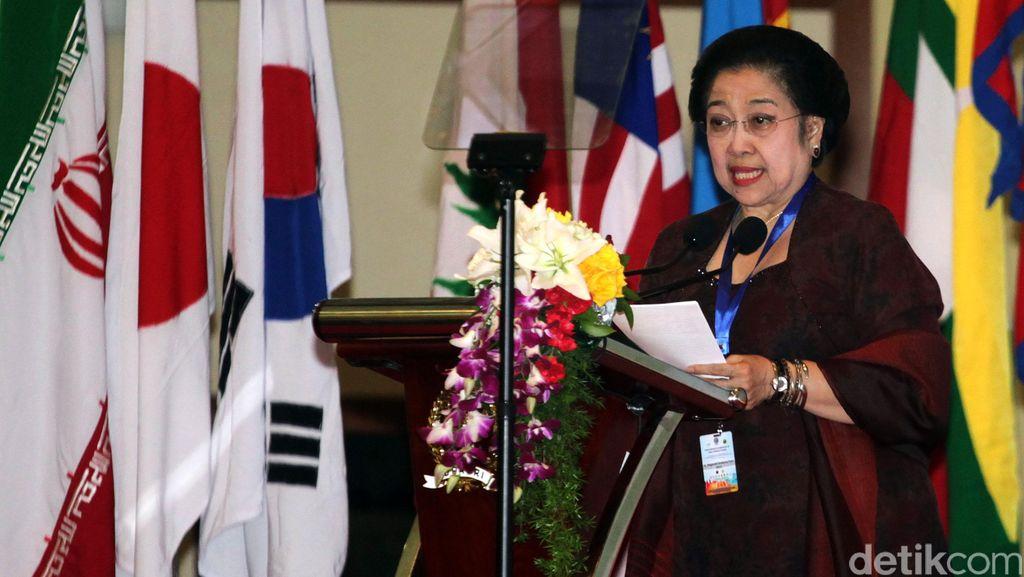Tutup Konferensi Parpol Dunia, Mega Bahas Kolonialisme dan Imperialisme