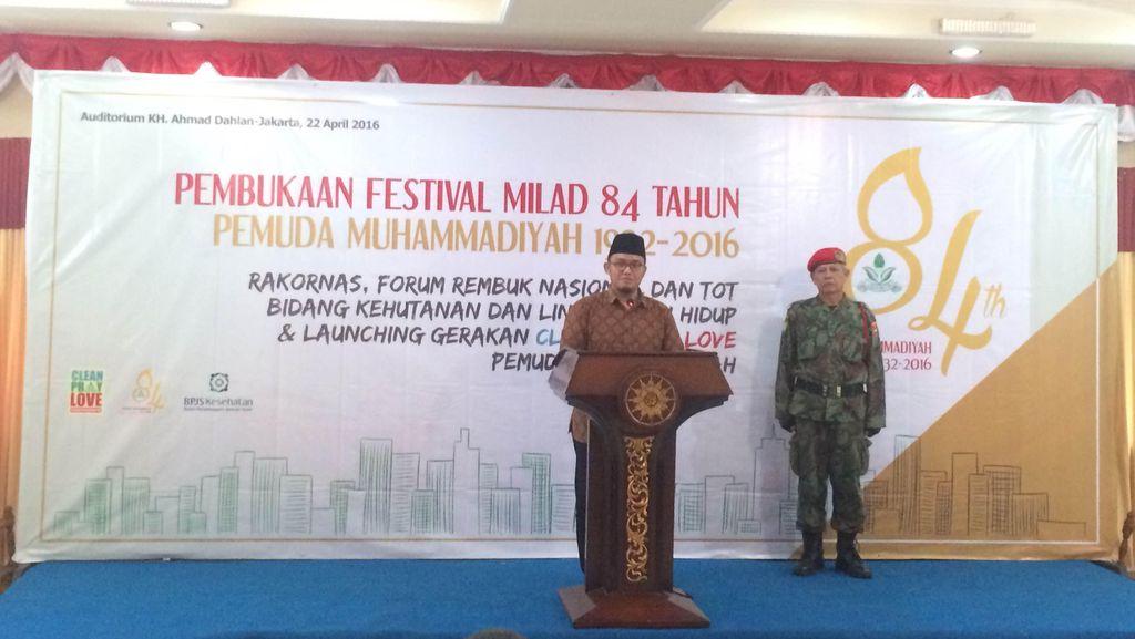 Gandeng Marinir, Muhammadiyah Luncurkan Gerakan Clean, Pray, Love