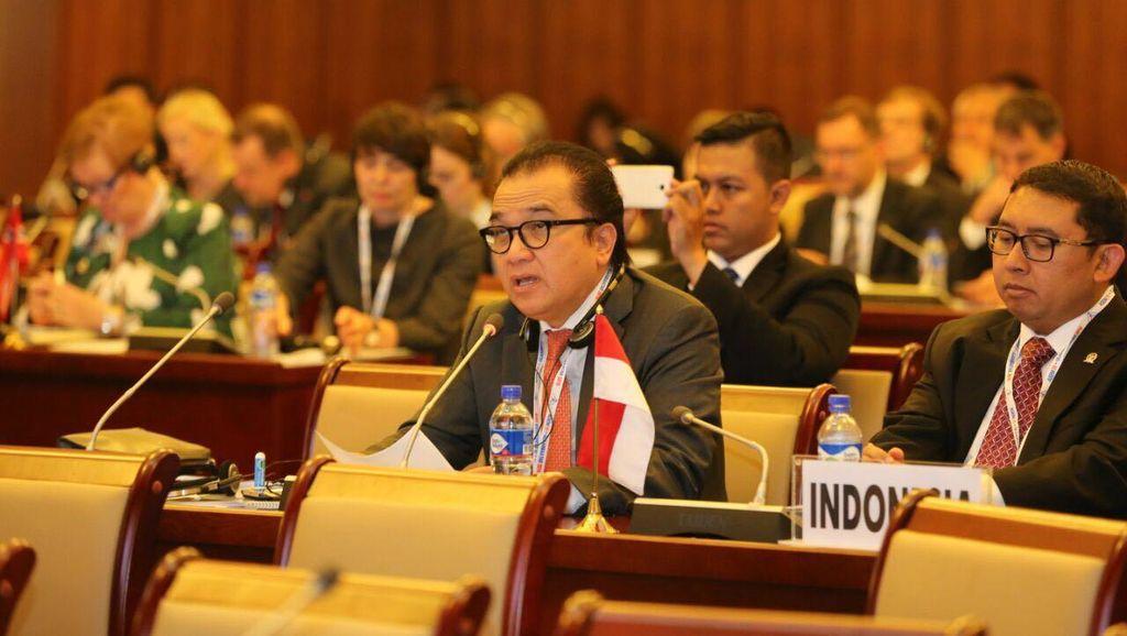 Ke Mongolia Bareng Fadli Zon, Tantowi Bicara Pembangunan Maritim Indonesia