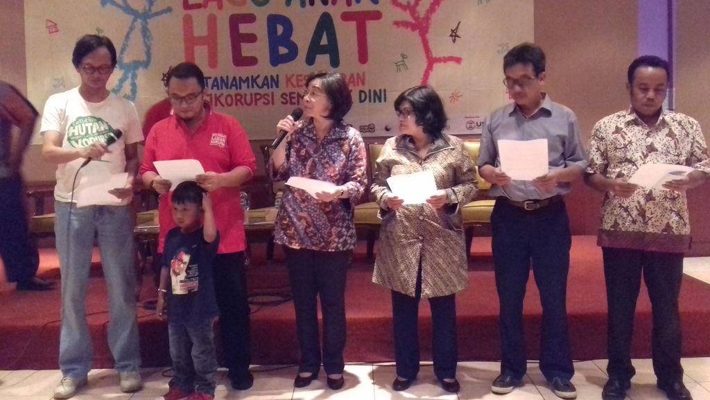 ICW dan Pemuda Muhammadiyah Luncurkan Lagu Anak Antikorupsi