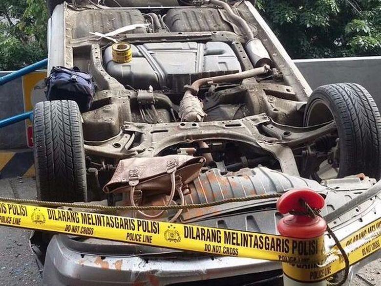 Sopir Honda City yang Jatuh di Lokasari Mengaku dari Diskotek