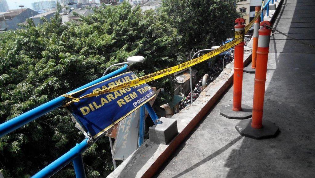 Ini Lokasi Honda City Terjun Bebas dari Plaza Lokasari, Amankah?