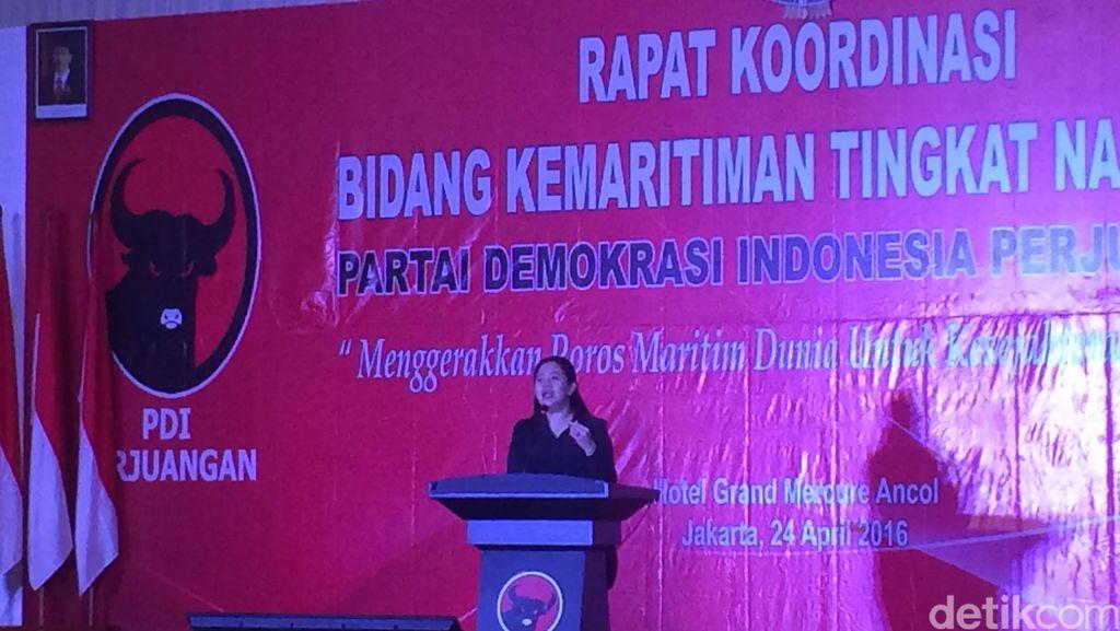Mega Tak Jadi Buka Rakor Kemaritiman PDIP, Digantikan Puan Maharani