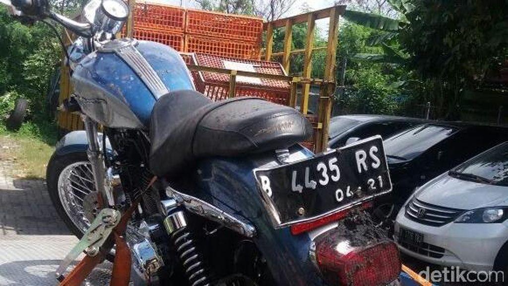 Endi, Pengendara Harley yang Tewas Sudah Dibawa Keluarga dari RSCM