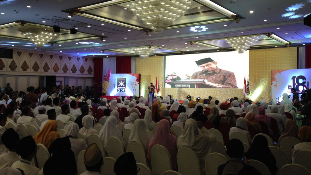 BJ Habibie: PKS Partai yang Konsisten, Asal Istiqomah Terus