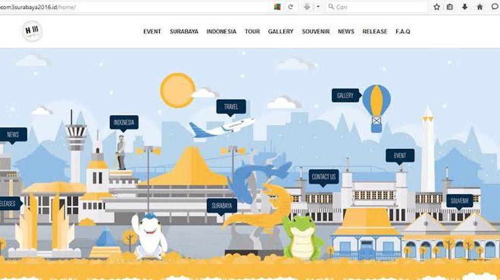 Luncurkan Website PrepCom III UN Habitat, Risma Berterima Kasih ke Komunitas Fotografer