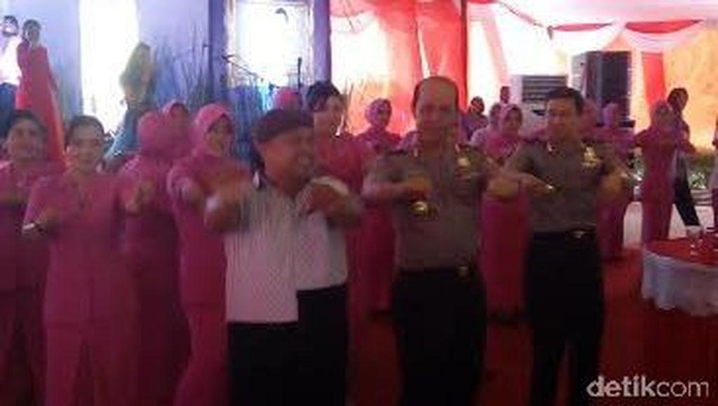 Goyang Maumere Brigjen Boy Rafli dan Salam Perpisahan untuk Banten
