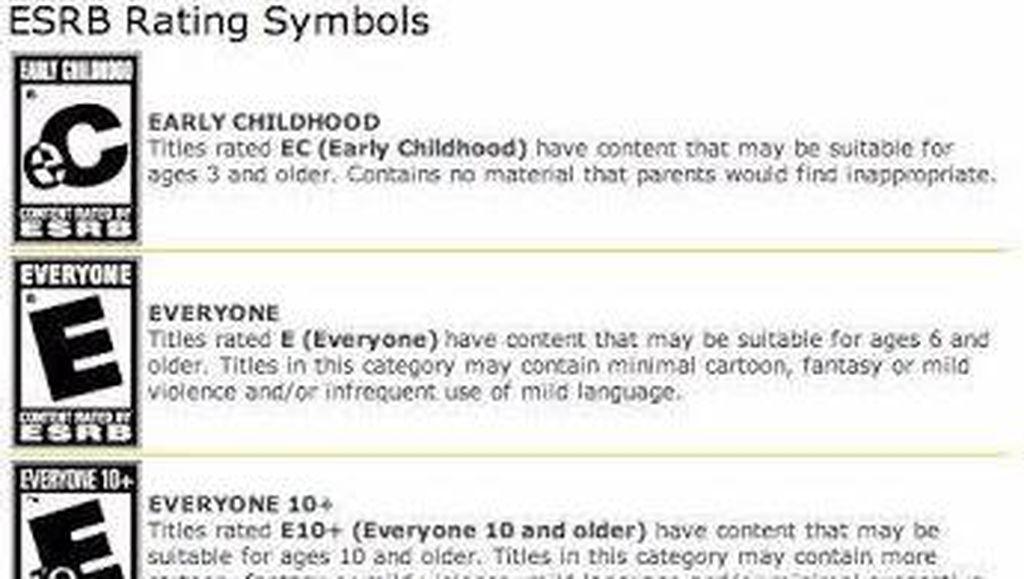 Dear Orang Tua, Perhatikan Kategori Video Game untuk Anak