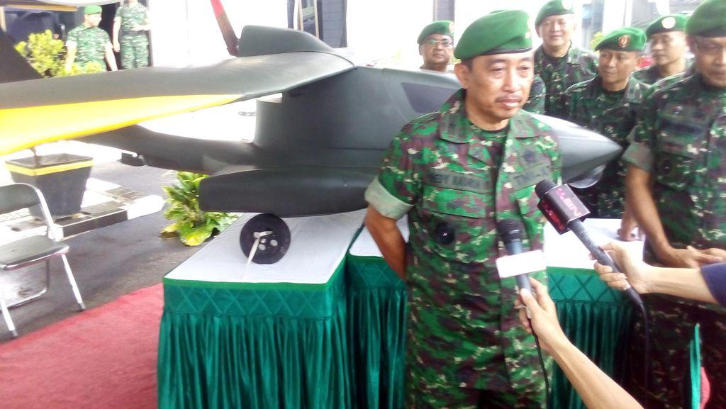Patroli Topografi TNI AD Kini Dibantu Drone