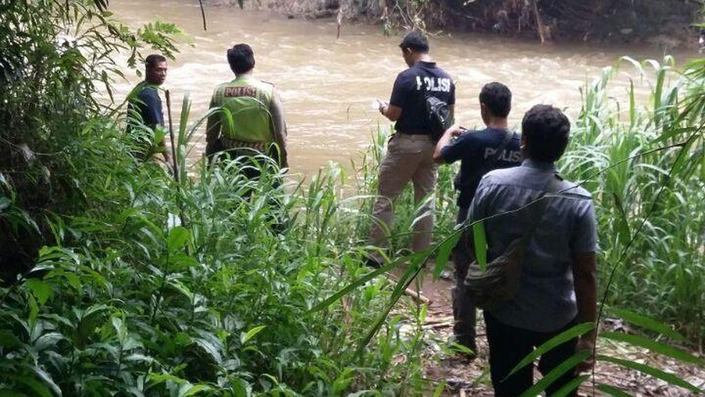 Polisi Sisir Sungai Ciliwung Depok Selidiki Kematian Wanita Misterius
