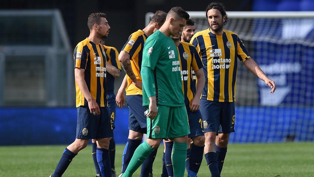 Verona Terdegradasi ke Serie B