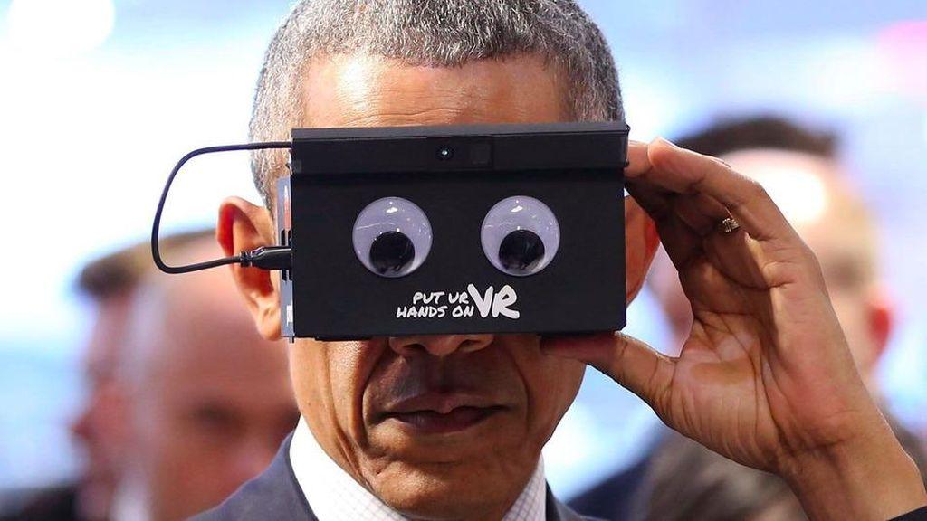Film Pendek Obama Hadapi Masa Pensiun Presiden AS
