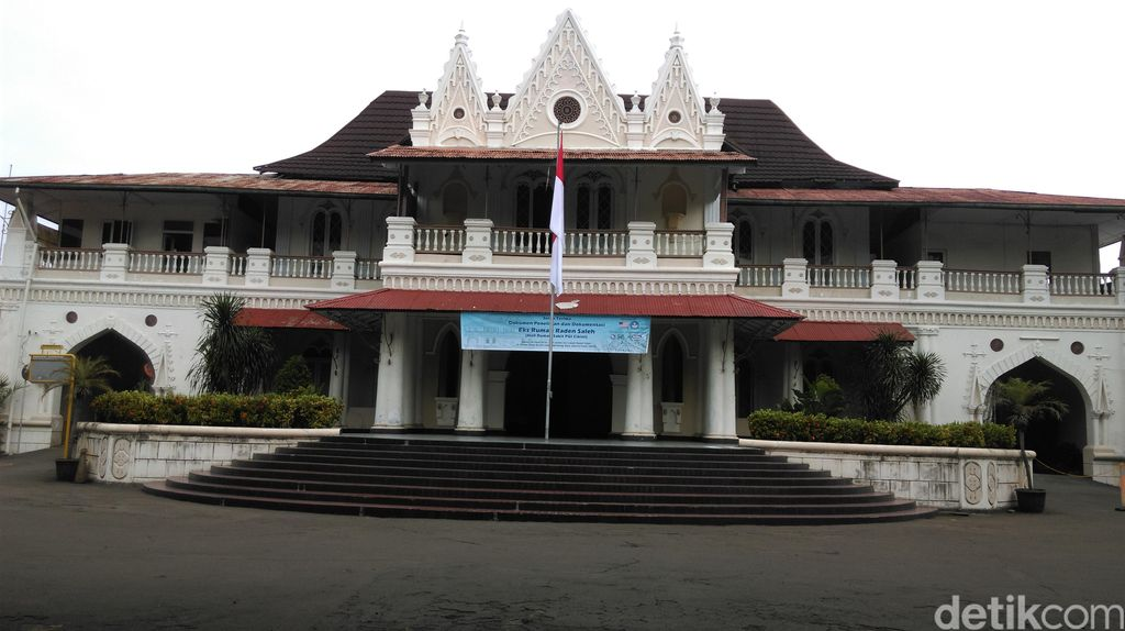 Rumah Raden Saleh, Bangunan Tertua di Menteng yang Kini Memprihatinkan