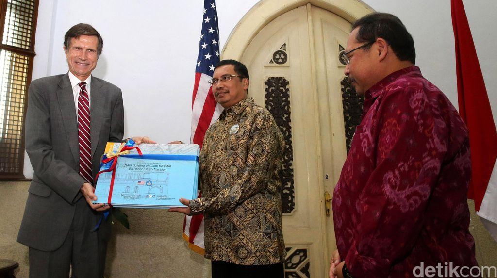 Kedubes AS Bantu Danai Revitalisasi Rumah Raden Saleh