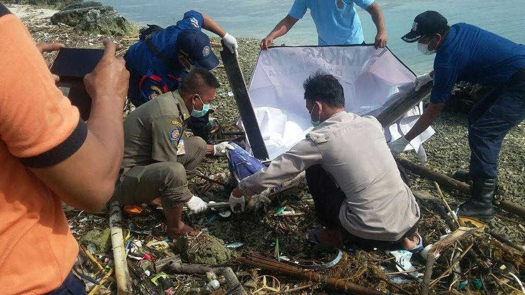 Potongan Tubuh Pria Ditemukan di Pinggir Pantai Pulau Beras Kecil