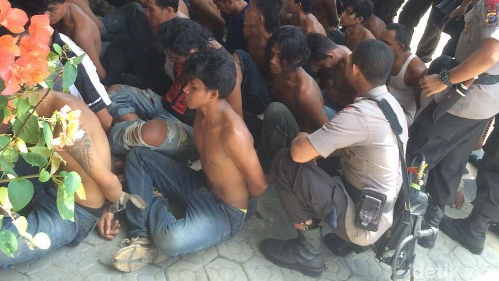 Bentrok Ormas di Kampar Riau Berujung Maut, 23 Orang Jadi Tersangka
