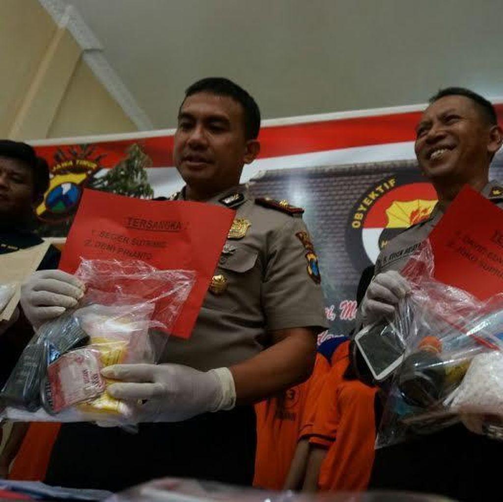 35 Pengedar Narkoba dan 2 Perempuan Diamankan Dalam Operasi Bersinar