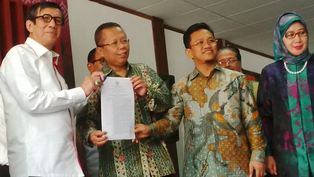 Dari 146 Pengurus PPP Hasil Muktamar Islah, 48 dari Kubu Djan