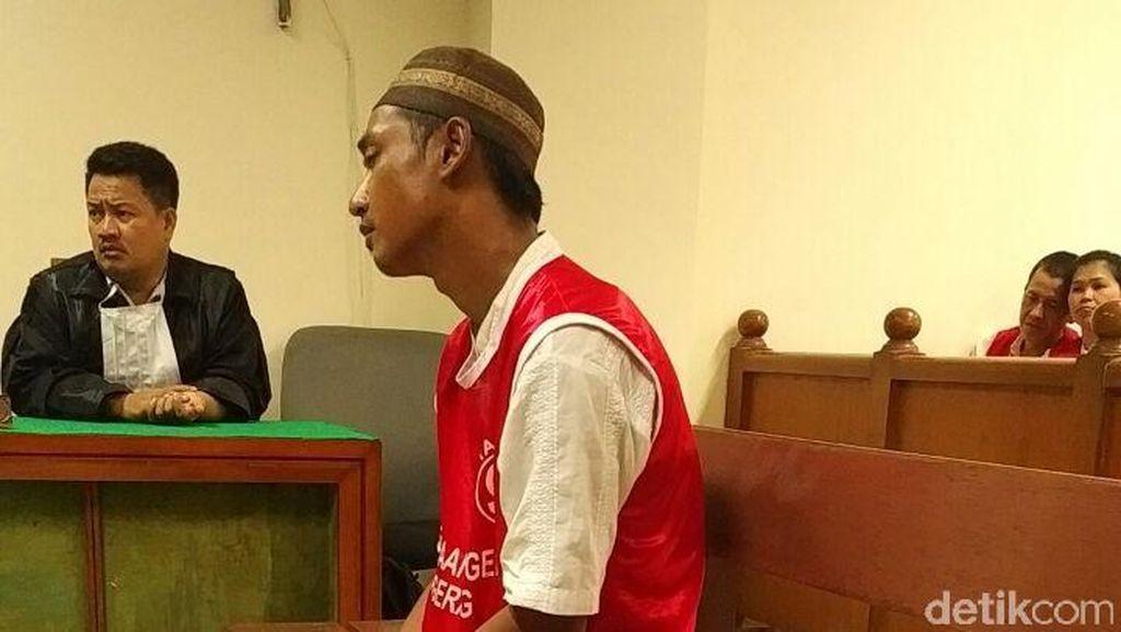 Pembunuh Hj Musarafah di Empang Tangerang Divonis 17 Tahun Bui