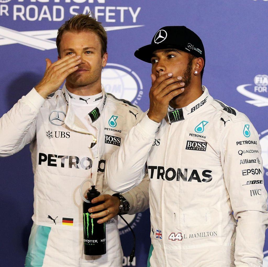 Rosberg Akui Sulit Berteman dengan Hamilton