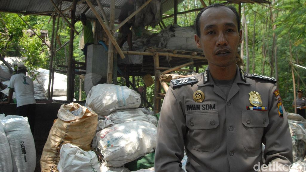 Pilihan Brigadir Iwan antara Bisnis Daur Ulang Sampah dan Polisi