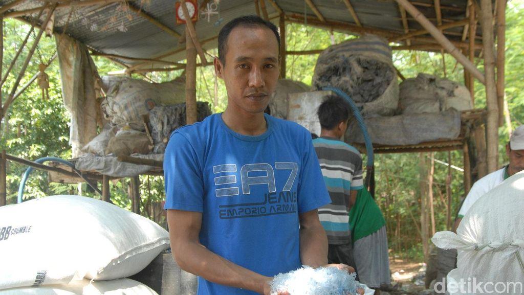 Salut! Brigadir Iwan Bandar Sampah Pekerjakan Janda dan Eks Pelaku Kriminal