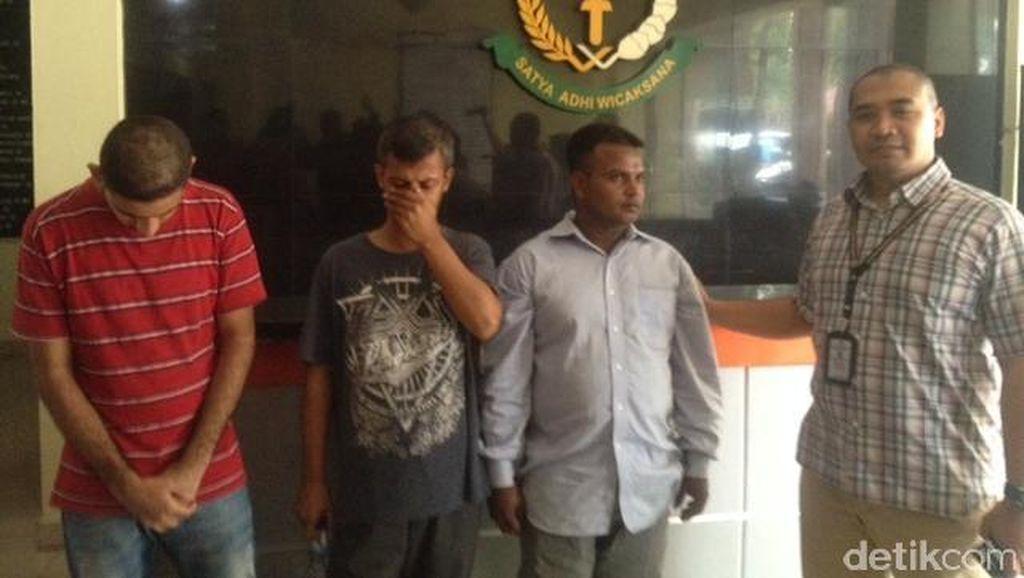 Masuk ke Indonesia Secara Ilegal, 3 WNA di Medan Terancam Penjara 5 Tahun
