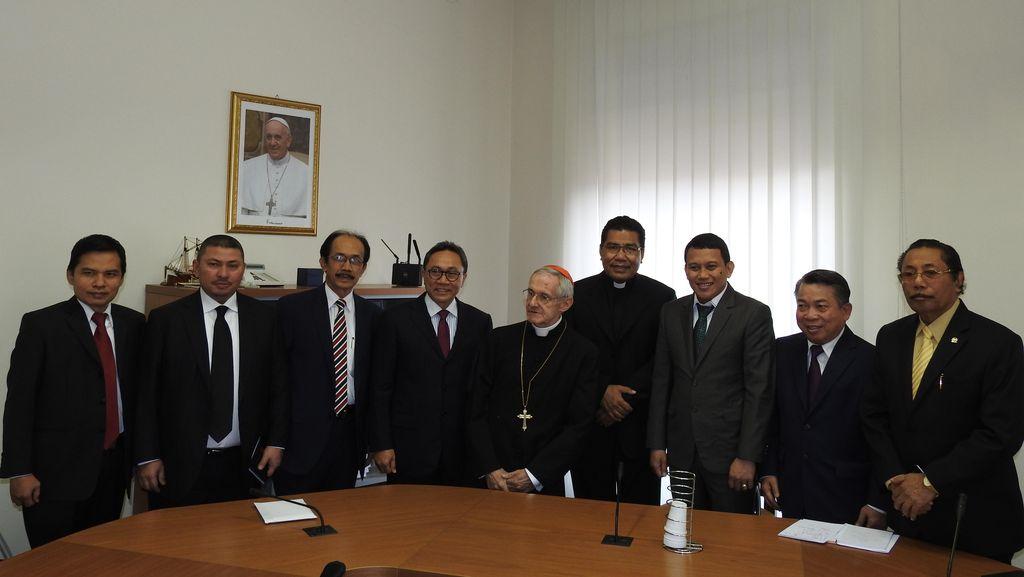 Dikunjungi MPR, Vatikan Akui Pancasila Kunci Kerukunan Beragama di Indonesia