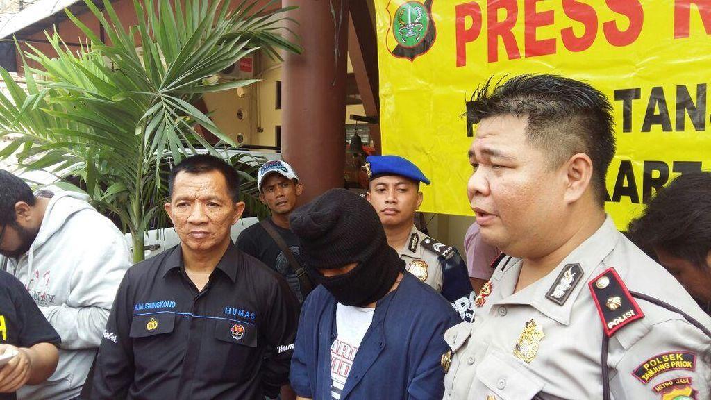Rampok Sopir Ojek Pangkalan di Priok, Anis Dibekuk Polisi