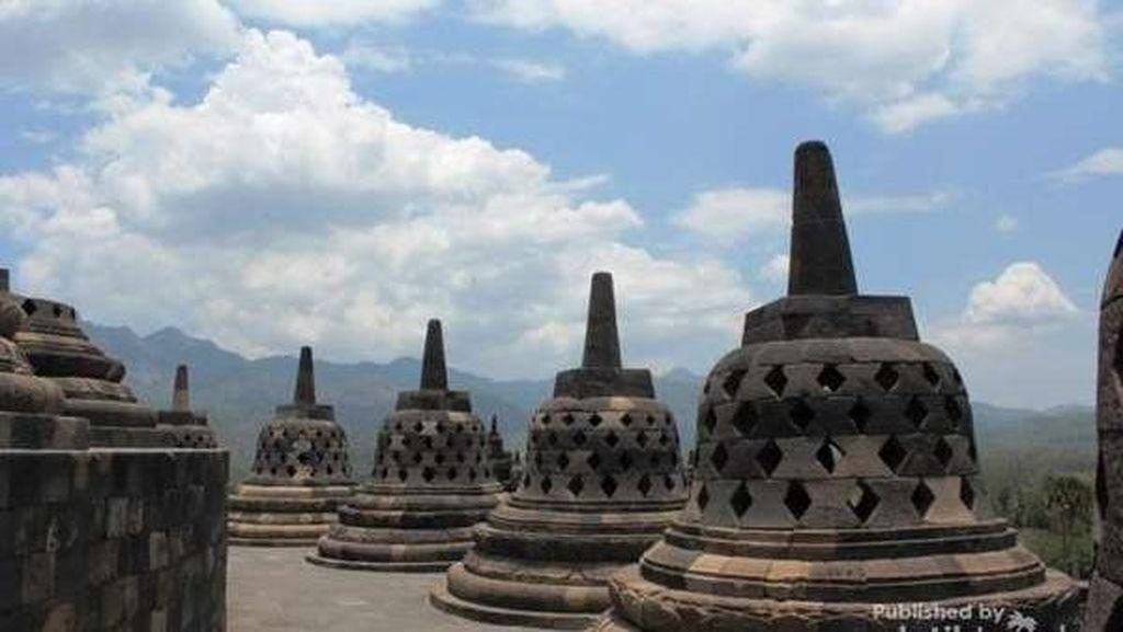 Puluhan Siswa Kesurupan Setelah Geser Batu Candi Borobudur