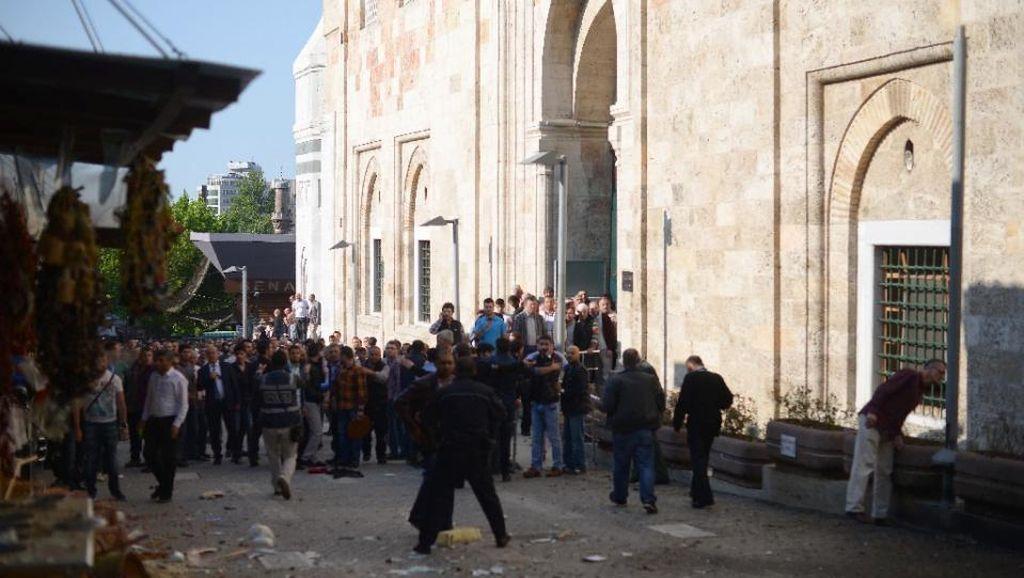Bom Bunuh Diri di Dekat Masjid Turki Tewaskan 1 Orang, Pelakunya Wanita