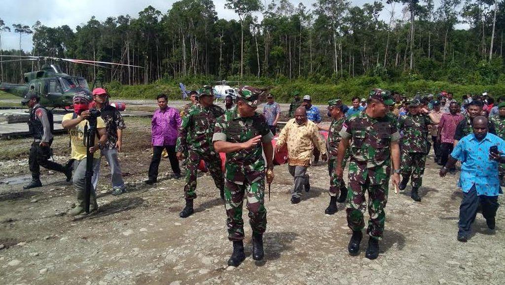 Ini Jalur Trans Papua yang Dibuka Jalurnya oleh TNI Atas Instruksi Jokowi