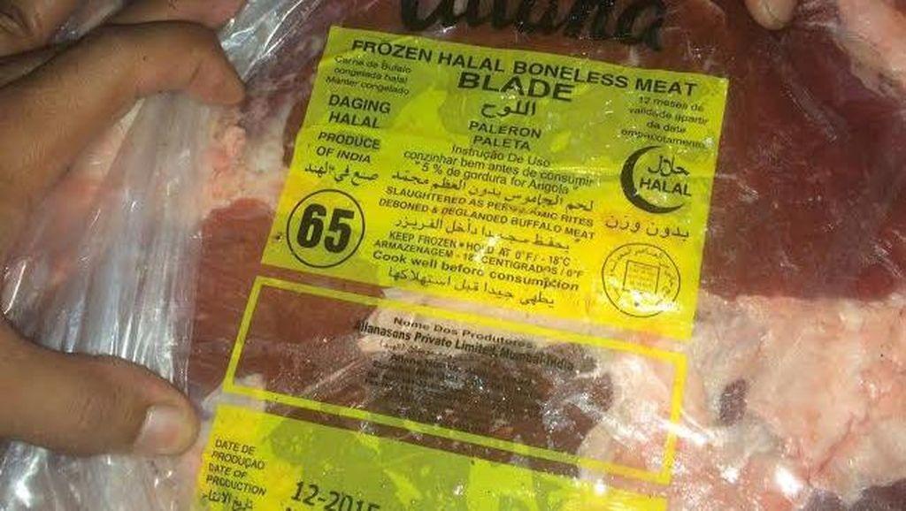 944 Kg Daging Sapi Asal Malaysia yang Coba Diselundupkan ke Kalbar Digagalkan