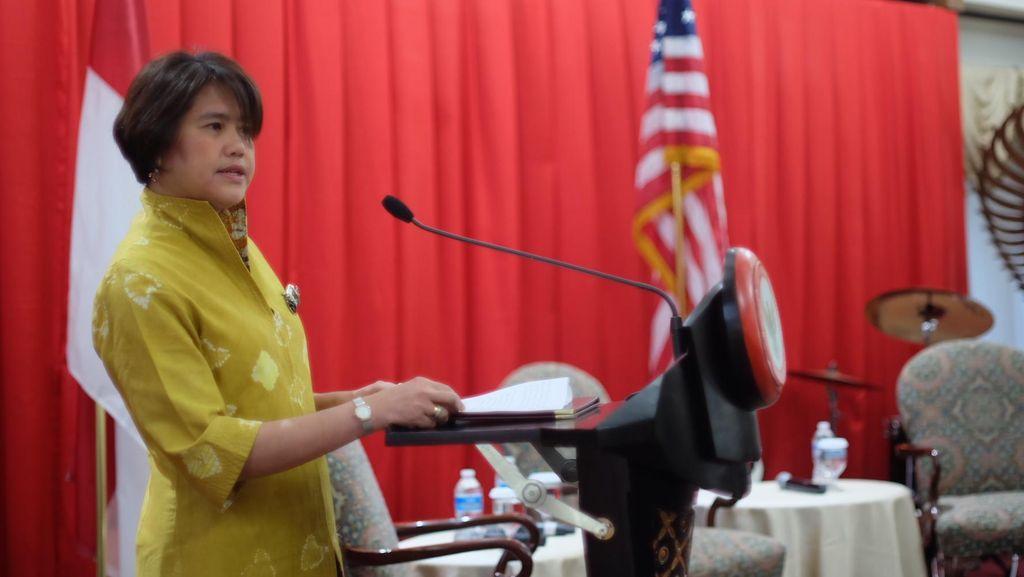 Istri Dubes RI Promosi Islam Moderat ke Istri Para Anggota Kongres