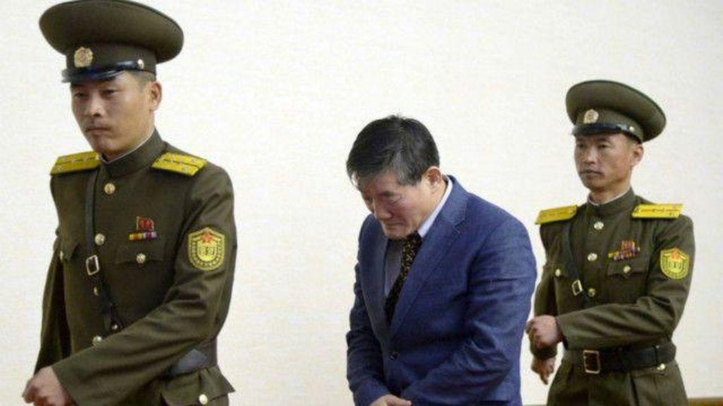 Dituduh Mata-mata oleh Korut, Warga AS Dihukum 10 Tahun Kerja Paksa