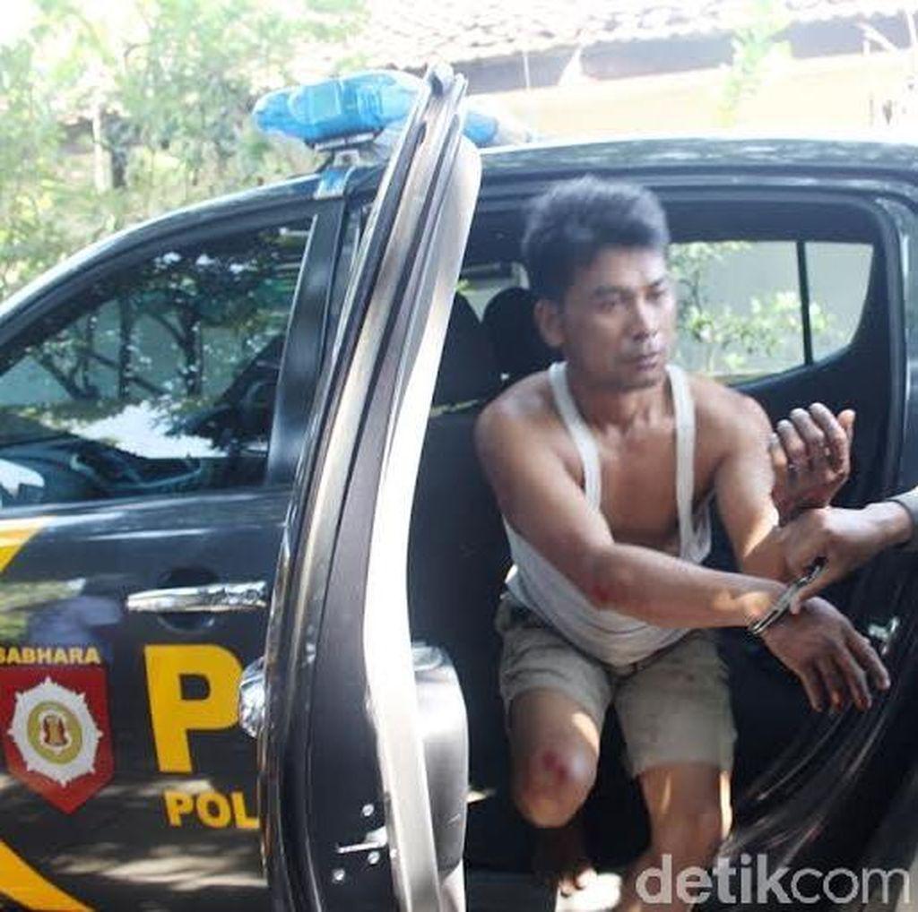 Nekat, Penjambret Kabur Sambil Menyandera Polisi