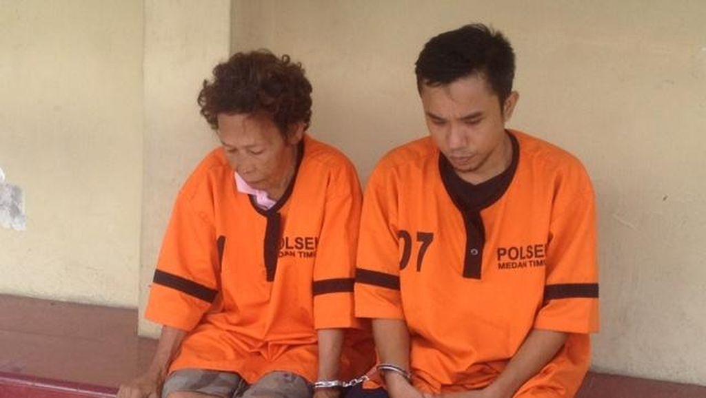 Nenek Bandar Narkoba Dibekuk Polisi di Medan, Anak Buahnya Ditembak